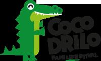 logotipo cocodrilo family festival